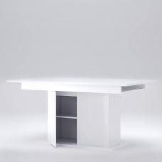 Раздвижной стол-трансформер MiroMark Рома с дверцами