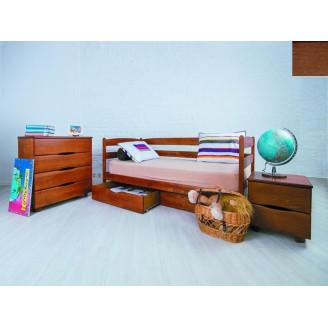 Кровать Марио с ящ 80х190 орех У-1