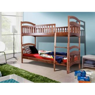 Кровать двухъярусная трансформер Кира Сосна Микс Мебель