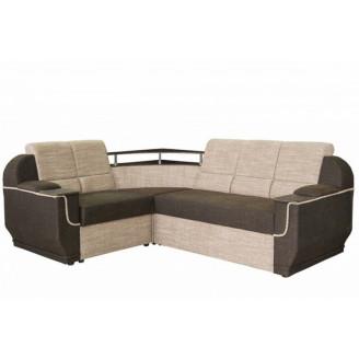 Угловой раскладной диван Меркурий без столика Магма Дельфин Мебель-Сервис