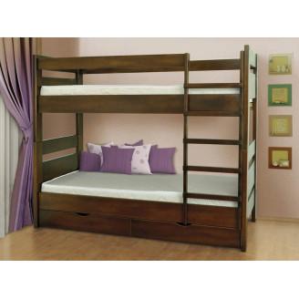 Кровать двухъярусная Селена с ящиками 80*200 Летро