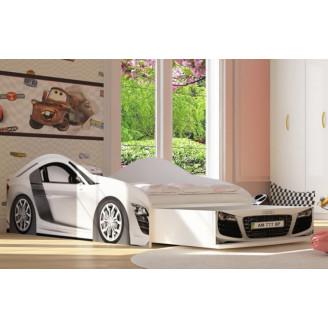 Кровать-машинка Бренд-6 Audi R8 с ящиком Viorina-deko