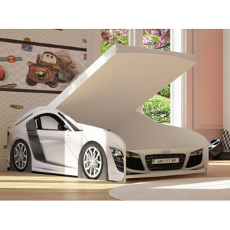 Кровать-машинка Бренд-6 Audi R8 с механизмом Viorina-deko