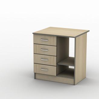 Тумба ТП-3 70*60 Бюджет Плюс ТИСА-мебель