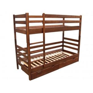 Кровать Засоня 80*190 Орех темный Микс Мебель