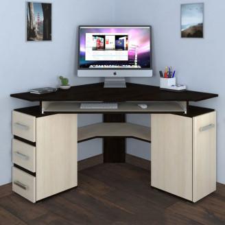 Угловой компьютерный стол Летро Пиксель