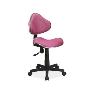 Детское кресло Q-G2 розовый узор Signal