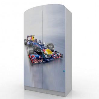 Шкаф платяной Формула 1/100 с ящиком Вальтер