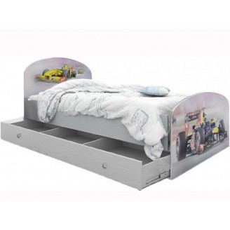 Кровать Формула 1 с ящиком 90*190 Вальтер