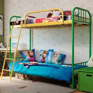 Металлическая кровать Бамбо Дуо Метакам