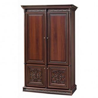 Шкаф двухдверный Тоскана-Нова вариант один Скай