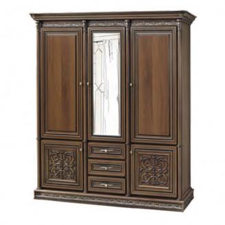 Шкаф трехдверный Тоскана-Нова вариант один Скай