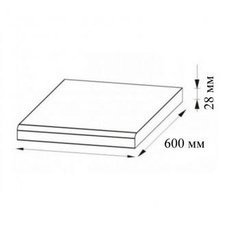 Столешница цельная Мир Мебели 28 мм 1,6м