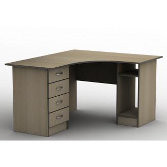 Стол угловой СПУ-6 160*140 Бюджет ТИСА-мебель
