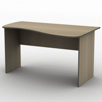 Стол письменный СПУ-7 120*75 Бюджет ТИСА-мебель