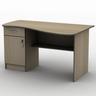 Стол письменный СПУ-8 120*75 Бюджет ТИСА-мебель