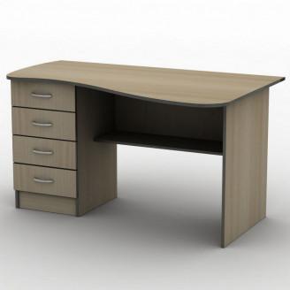 Стол письменный СПУ-9 120*75 Бюджет ТИСА-мебель