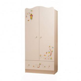 Шкаф платяной Цветы жизни Вальтер