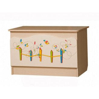 Ящик для игрушек Цветы жизни Вальтер