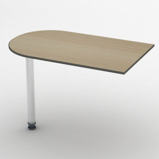 Приставной стол СПР-11 100*60 Бюджет ТИСА-мебель