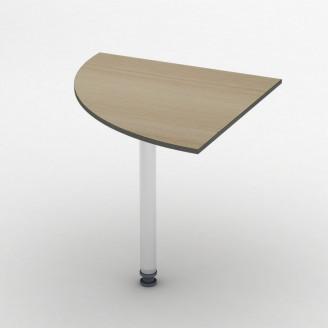 Приставной стол СПР-2 75*75 Бюджет ТИСА-мебель