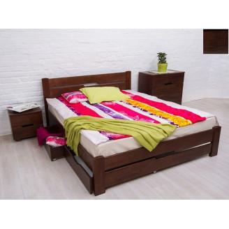 Кровать Айрис с ящ 160х200 Венге, ус лам У-1